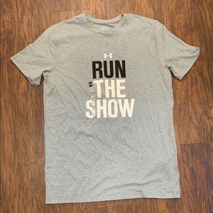 "Under Armour ""Run The Show"" Activewear T-Shirt"